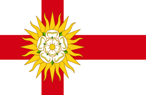West Riding flag.