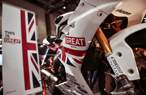 Sport is GREAT: UK shines at Tokyo Motorcycle Show 2014