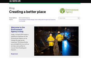 Creating a better place: The Environment Agency's new blog