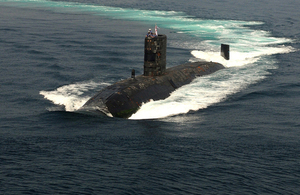 HMS Tireless (library image) [Picture: Leading Airman (Photographer) Dan Rosenbaum, Crown copyright]