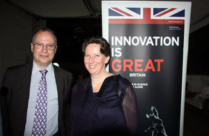 Ambassador Fiona Clouder and Mr. David Hatcher.