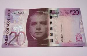 S300 twenty pound note