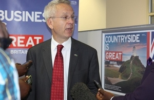 British High Commissioner James Thornton launches new Visa Application Centre