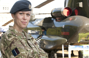 A Senior Aircraftwoman of the Royal Air Force Reserves (library image) [Picture: Sergeant Pete Mobbs RAF, Crown copyright]