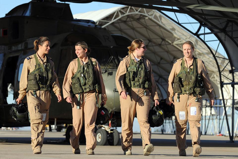 Female RAF pilots