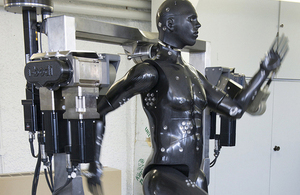 'Porton Man' mannequin at the Defence Science and Technology Laboratory in Porton Down [Picture: Crown copyright]