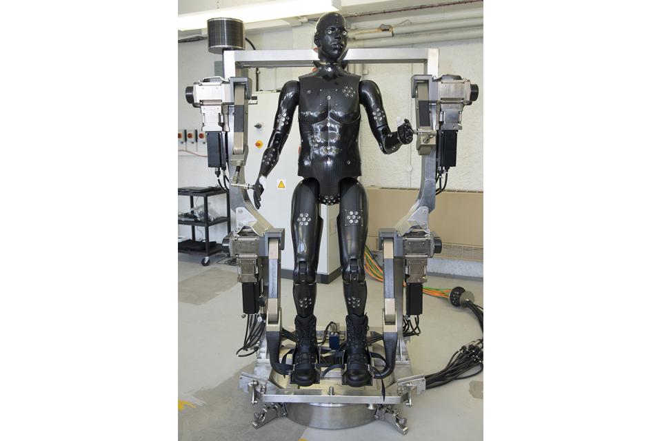 'Porton Man' mannequin