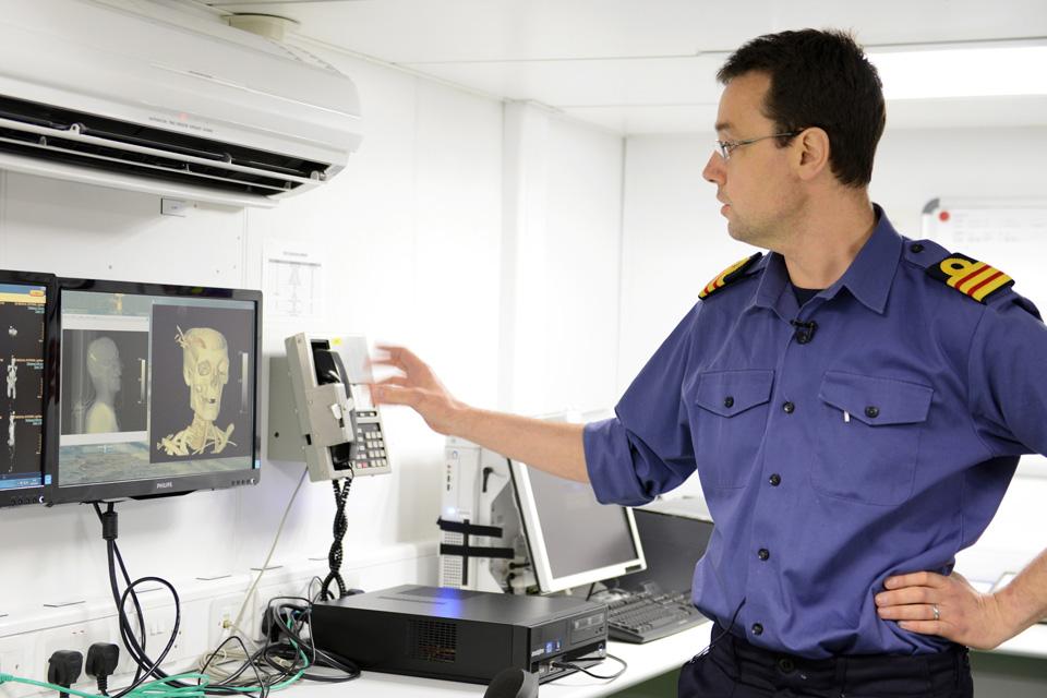 Surgeon Commander Phil Coates