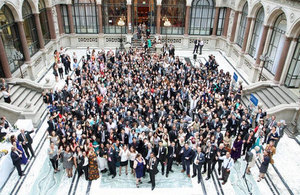 2012/13 Chevening Scholars at the Foreign Office