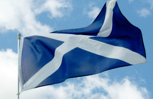 S300 saltire and clouds