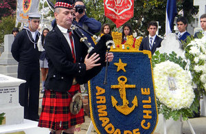 Commemoration of the Battle of Valparaíso.