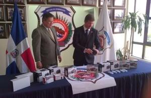 UK Government donates equipment to DNCD and Policía Nacional
