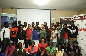 Learners from 16 schools in the Cape Town Metro participated