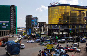 Ethiopia's capital Addis Ababa is a bustling centre of business and trade. Picture: Simon Davis/DFID