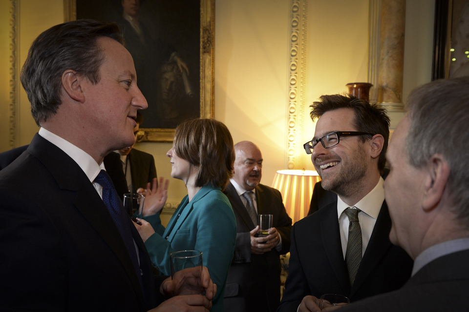 Easter reception at Downing Street