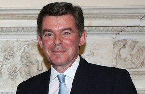 UK Minister for the Middle East, the Rt Hon Hugh Robertson