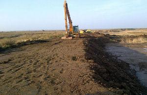 Work taking place at Blakeney