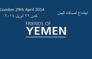 Friends of Yemen 29 April