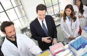 Chancellor George Osborne in Brazil