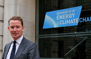 Greg Barker, British Minister of State at the Department of Energy & Climate Change (DECC)