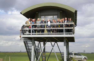 Environment Agency board looking over the Wash