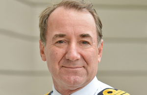 First Sea Lord Admiral Sir George Zambellas [Picture: Mark Rawlings, Crown copyright]