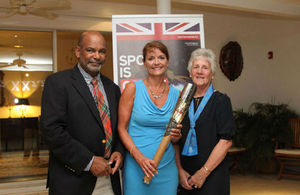 Governor with Baton