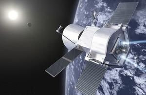 BepiColombo satellite.