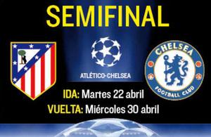 Atletico Madrid F.C. v Chelsea F.C.