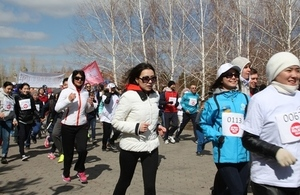 Sport Relief Mile 2014 Astana Run