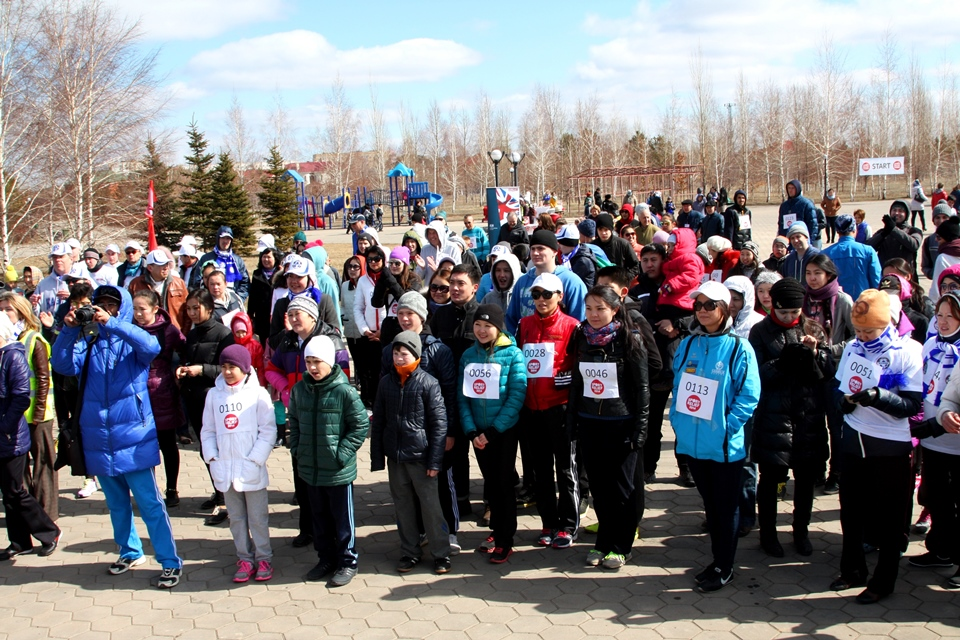 Sport Relief Mile 2014 Astana Opening Ceremony
