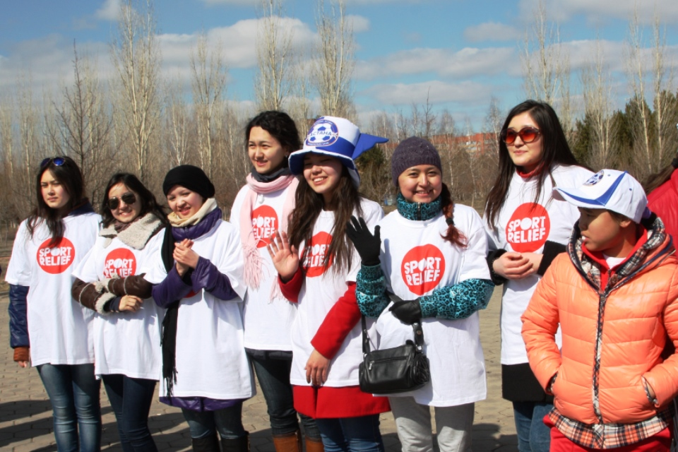 Sport Relief Mile 2014 Astana Our Volunteers