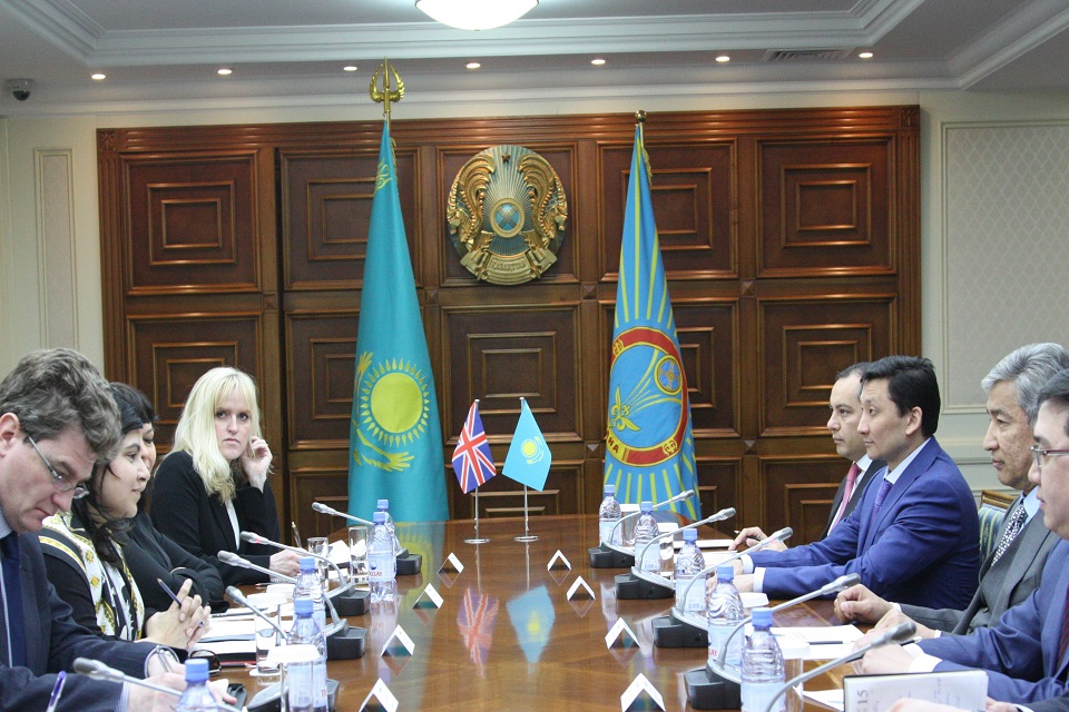 Meeting with Imangali Tasmagambetov