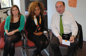 Norman Baker at the Safer London Foundation