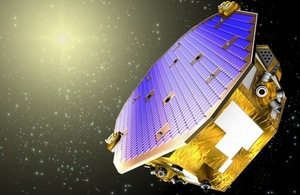 LISA Pathfinder spacecraft.
