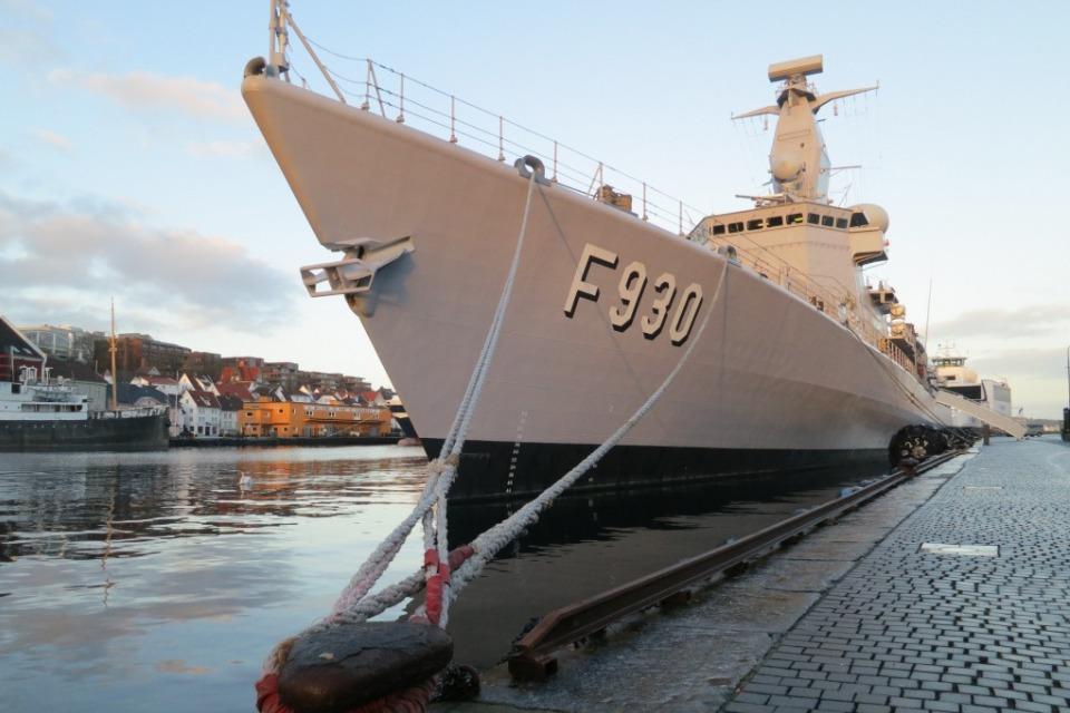 Belgian frigate Leopold I-F930