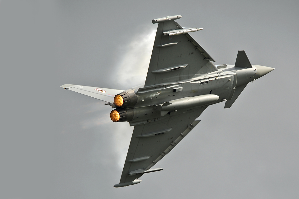 Typhoon aircraft (library image)