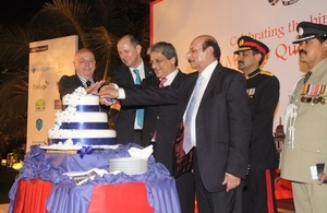 Queen's Birthday Party 2014 Karachi