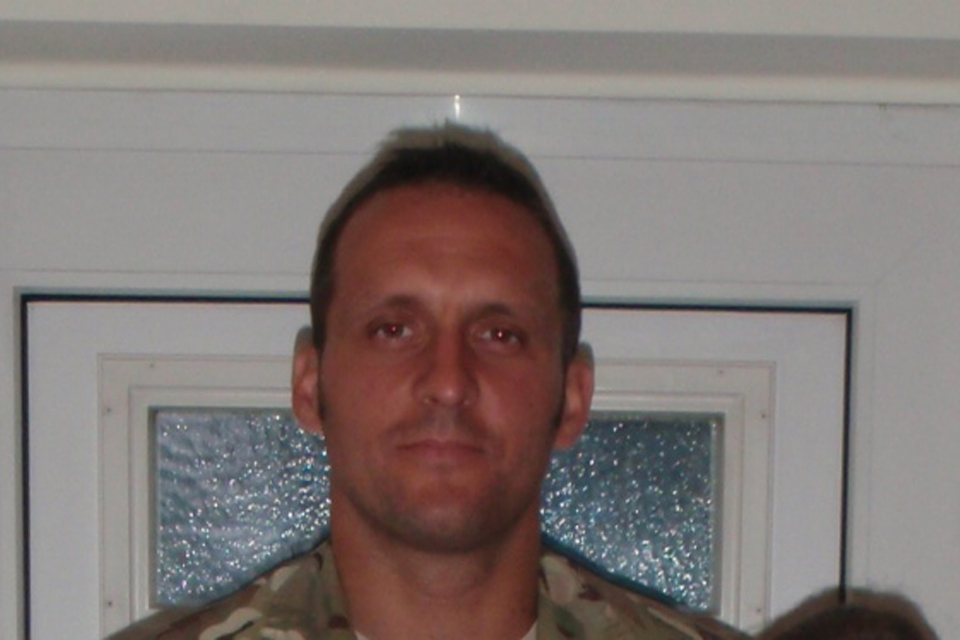 Warrant Officer Class 2 Spencer Faulkner (All rights reserved.)