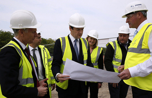 Chancellor visiting Ebbsfleet