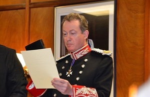 Swearing The Oath of Allegiance