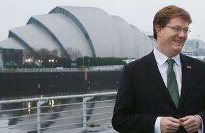 Danny Alexander in Glasgow