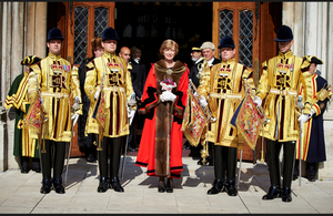 Lord Mayor Alderman Fiona Woolf
