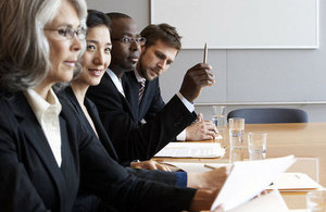 Business people in meeting (stock photo)