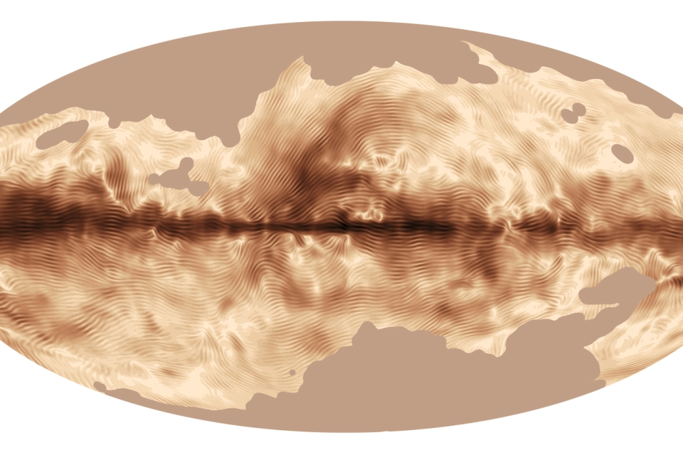 The magnetic field of our Milky Way Galaxy as seen by ESA's Planck satellite