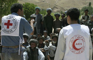 International Red Cross and Red Crescent Movement workers