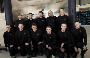 Newquay aeronautical engineering apprentices: an ESF project