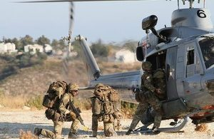 Army Reservists in action