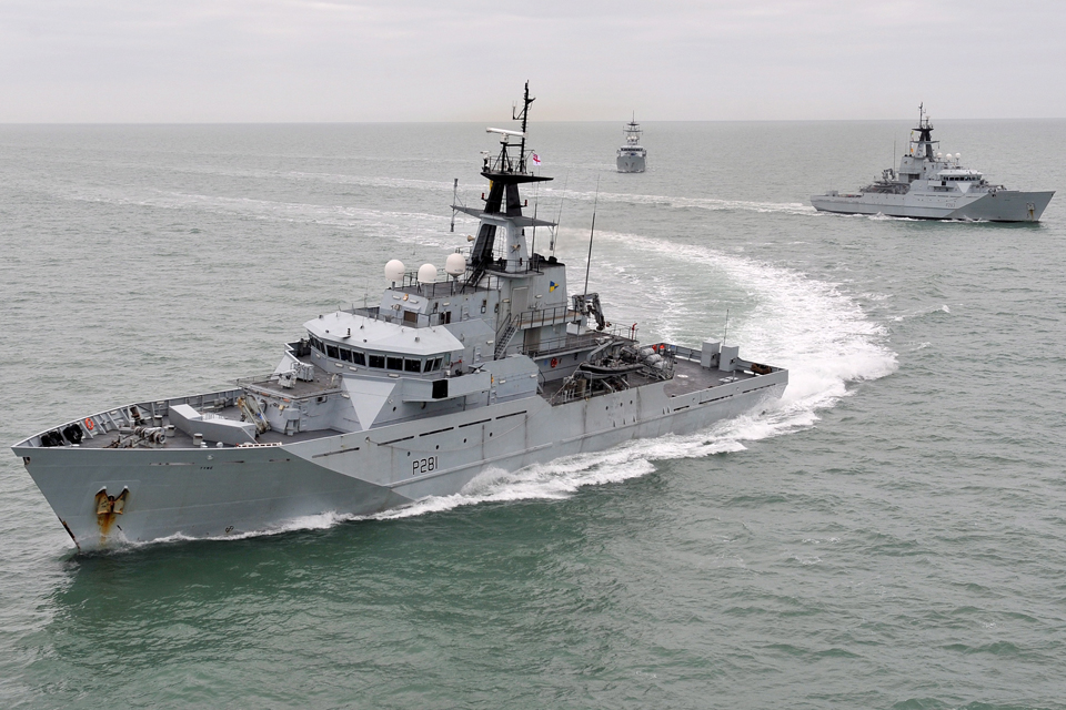 River Class patrol vessels of the Fishery Protection Squadron