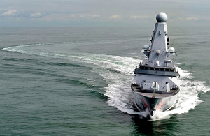 HMS Dragon (library image) [Picture: Leading Airman (Photographer) Nicky Wilson, Crown copyright]